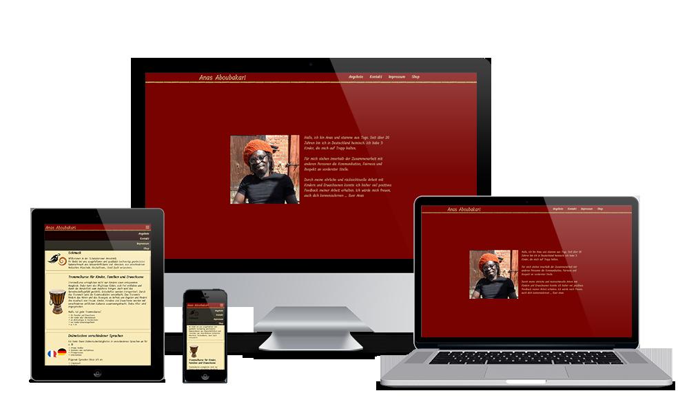 Anas Aboubakari - Webdesign