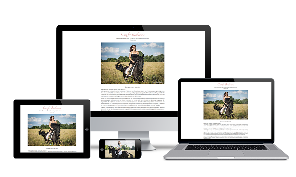 Caro - Webdesign