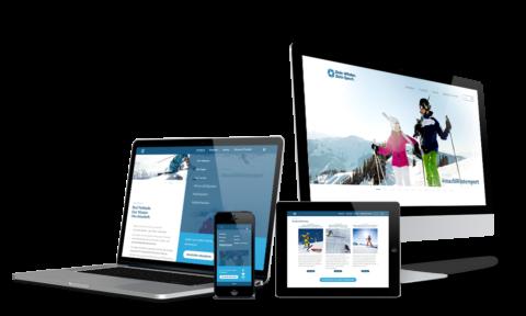 Dein Winter. Dein Sport.- Webdesign