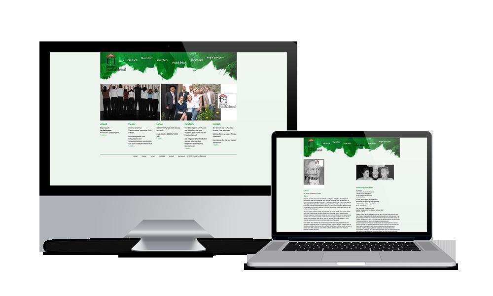 Theater Fundamental - Webdesign