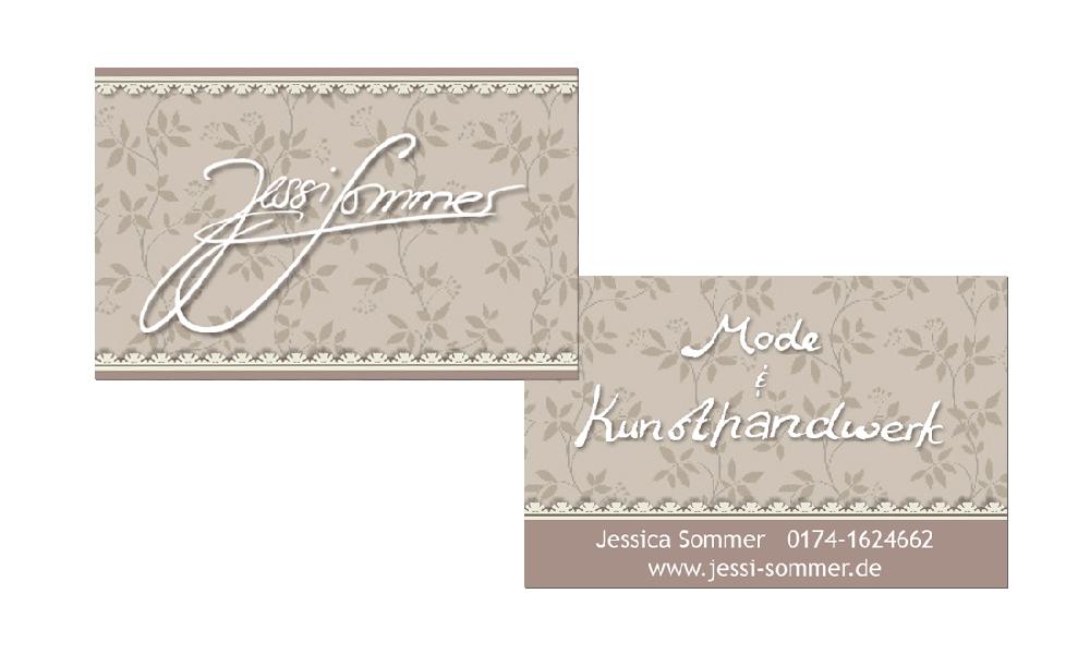 Jessica Sommer - Visitenkarten