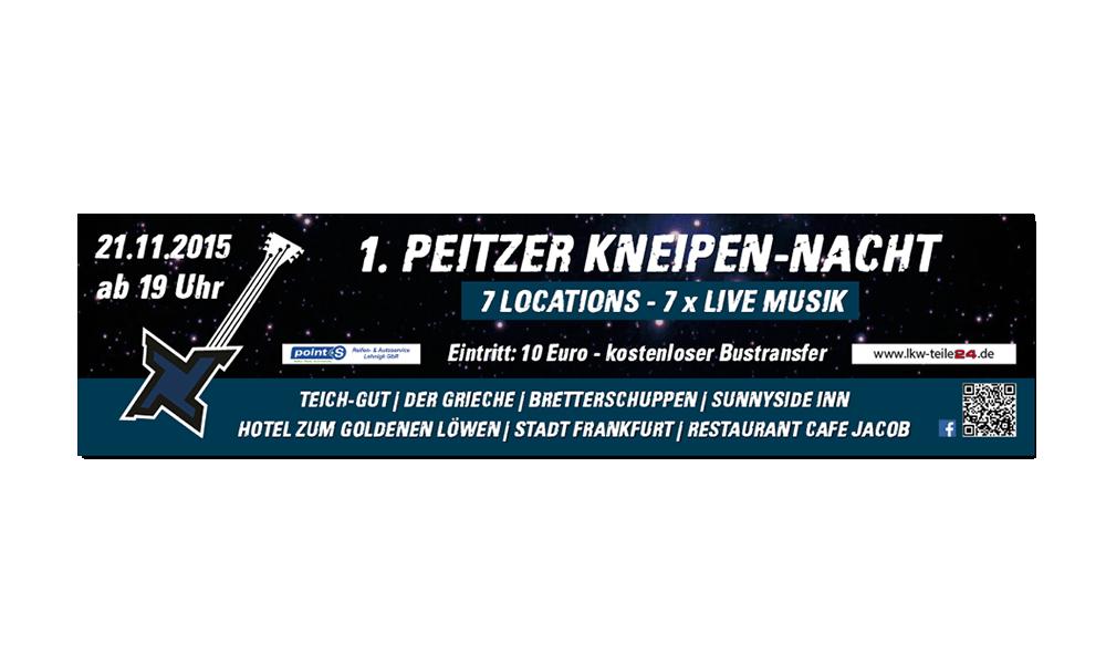 Kneipennacht 2015 - Banner