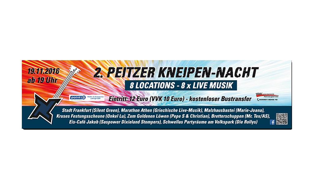 Kneipennacht 2016 - Banner