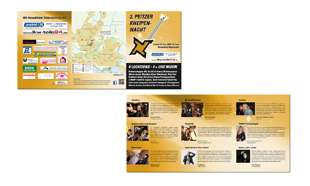 Kneipennacht 2017 - Flyer