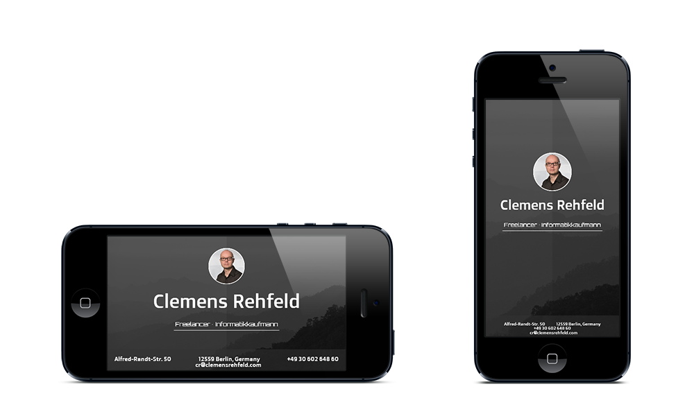 mcr communication - Webdesign - Smartphone