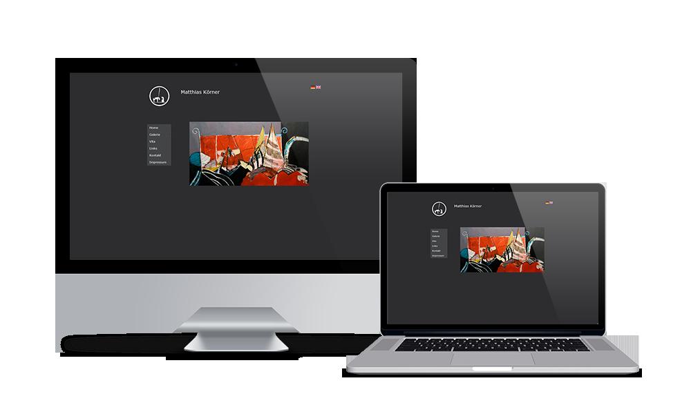Matthias Körner - Webdesign