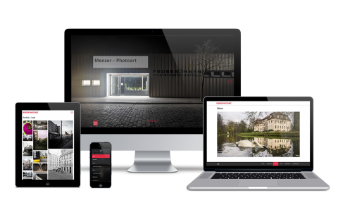 Menzer-Photoart - Webdesign