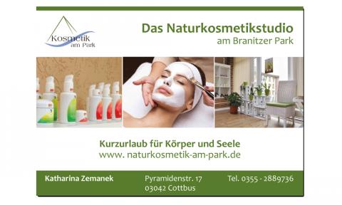 Naturkosmetik - Flyer
