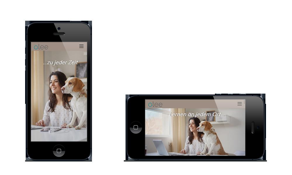 Olee - Webdesign - Smartphone