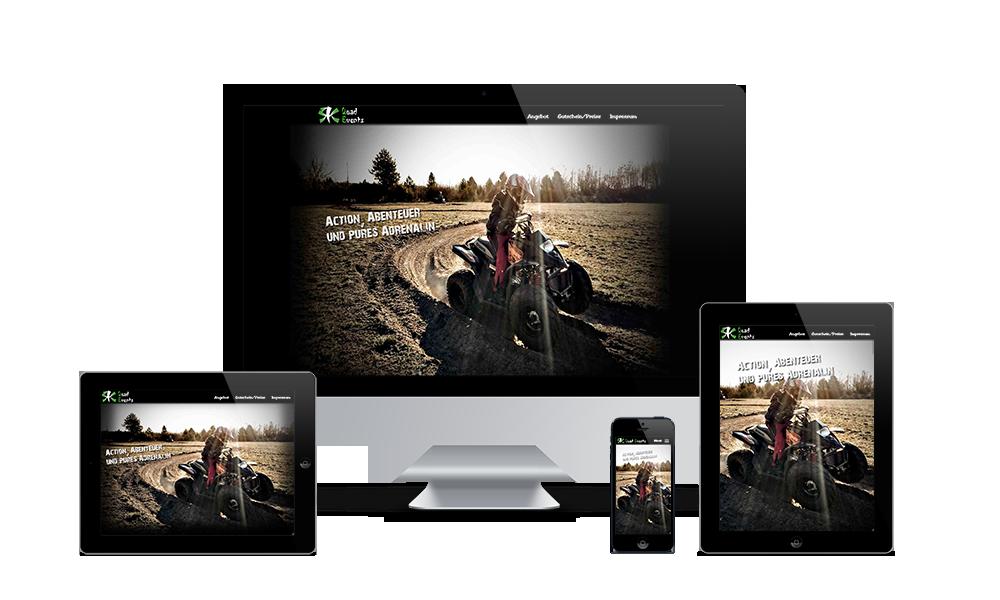 RK QuadEvents - Webdesign
